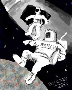art2day on the moon