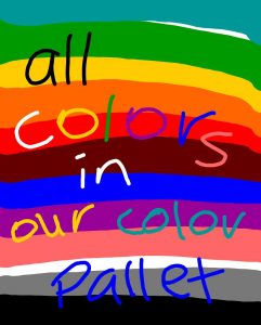 all colors in art2day collor pallete