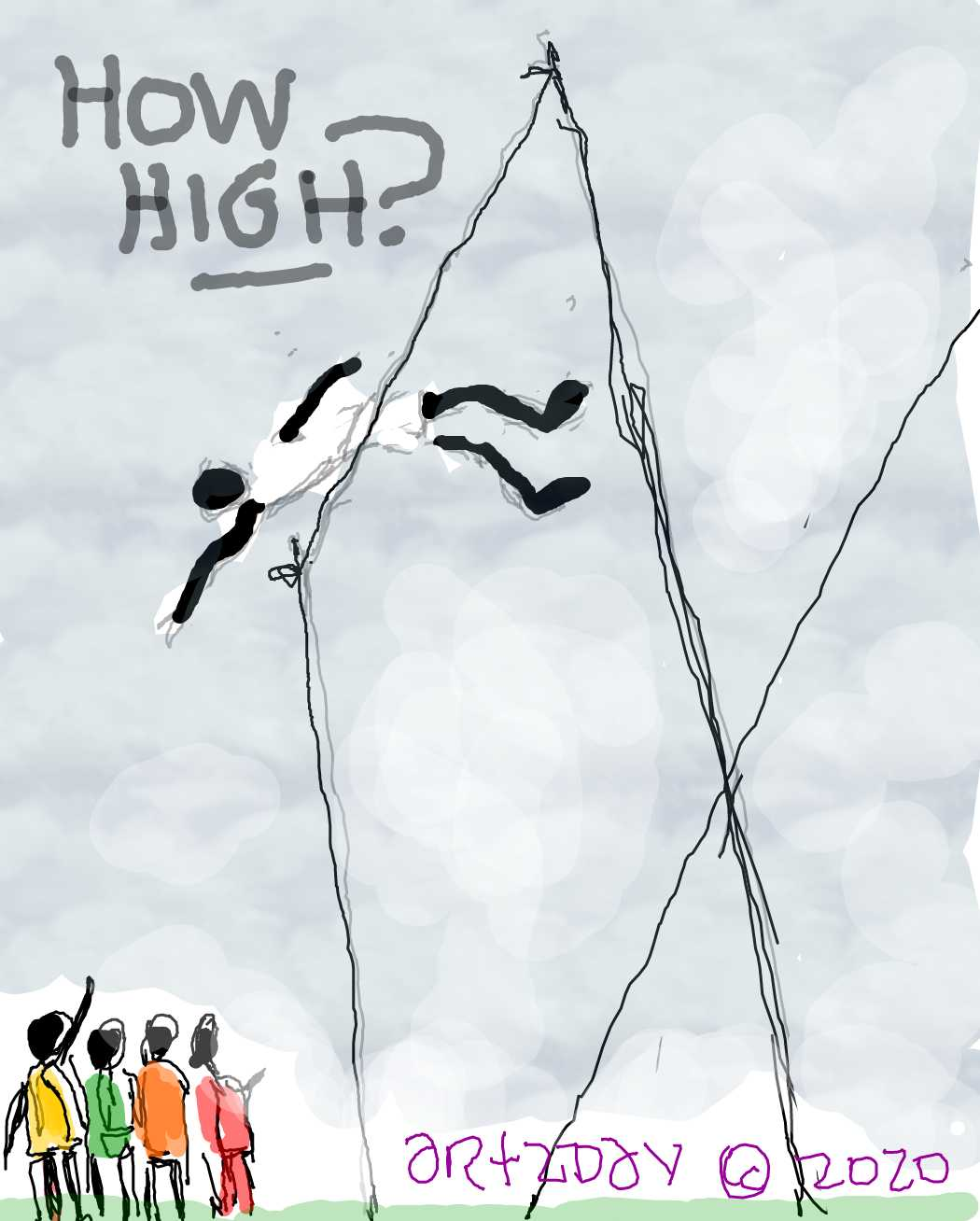 how high can you go before you dip?