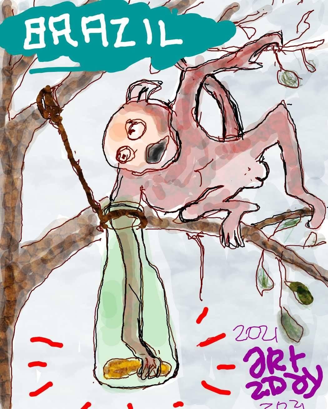 catch a monkey