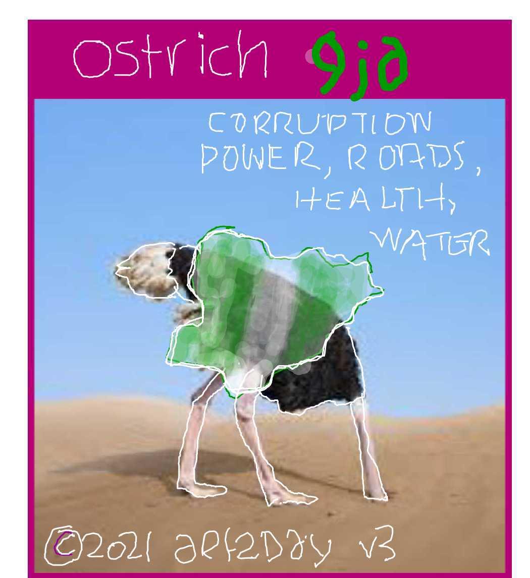 big ostrich